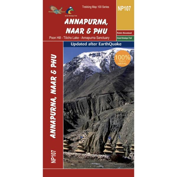 GHT Annapurna Map Cover