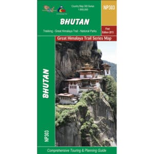 GHT Bhutan Trek Route and Planning Map
