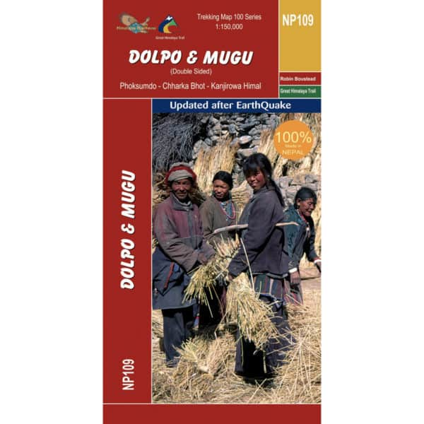 GHT Dolpo and Mugu Map Cover