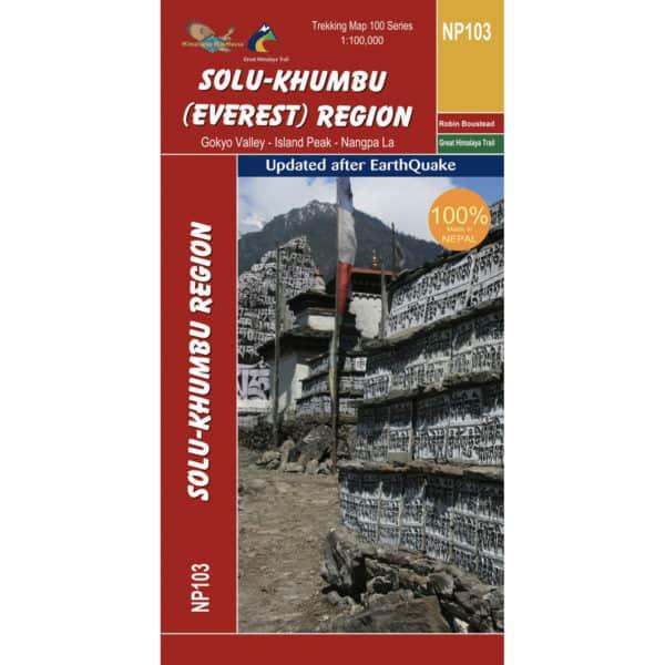 GHT Solu Khumbu Everest Map Cover