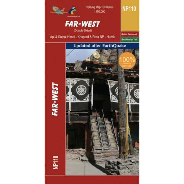 GHT Far West Nepal Map Cover