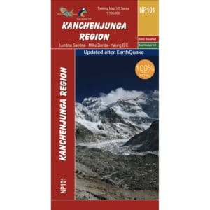 GHT Kanchenjunga Map Cover