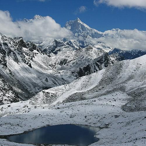Kanchenjunga Lumbha Sambha Pass view of Jannu zoom