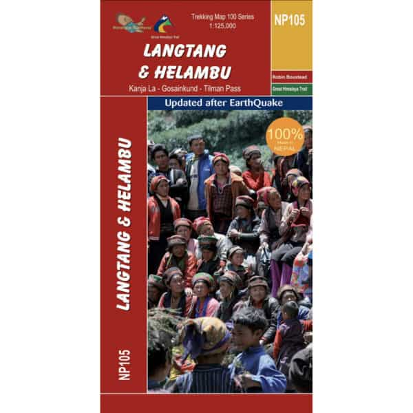 GHT Langtang Map Cover