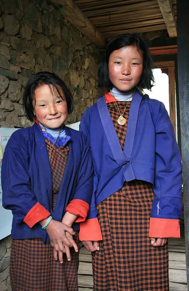 GHT West Bhutan Trek School Kids