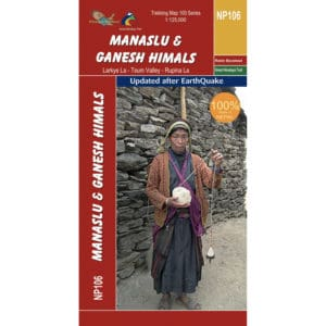 GHT Manaslu Map Cover