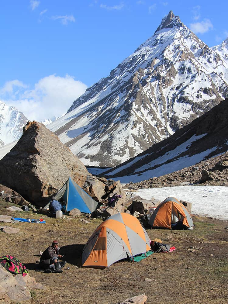 Which Style of Trek Camping Himachal Tiya camp