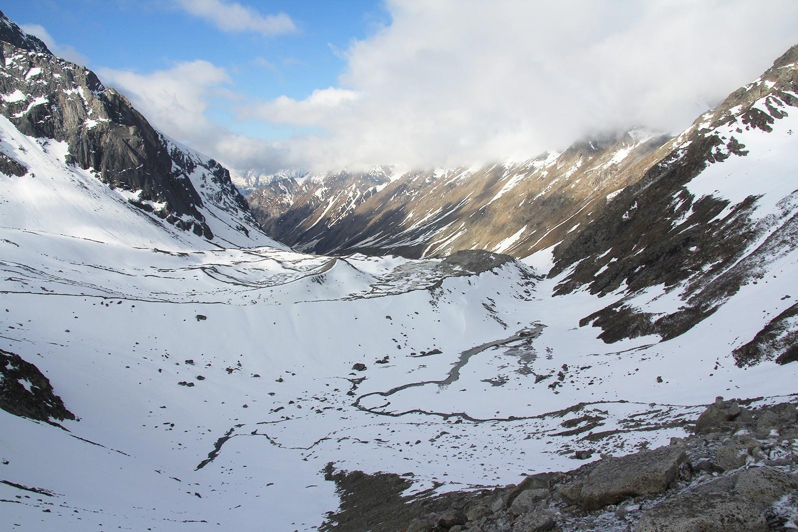 Himachal Pradesh Borasu Pass southern approach