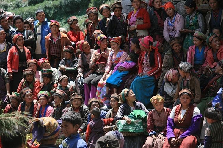 Manaslu and Ganesh Treks Gatlang Village