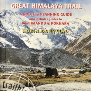 Nepal Trekking and the Great Himalaya Trail guide book 3rd edition