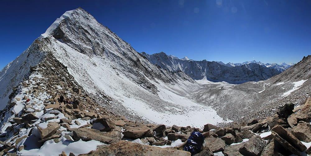 Kashmir and Ladakh Urgin La looking southwest