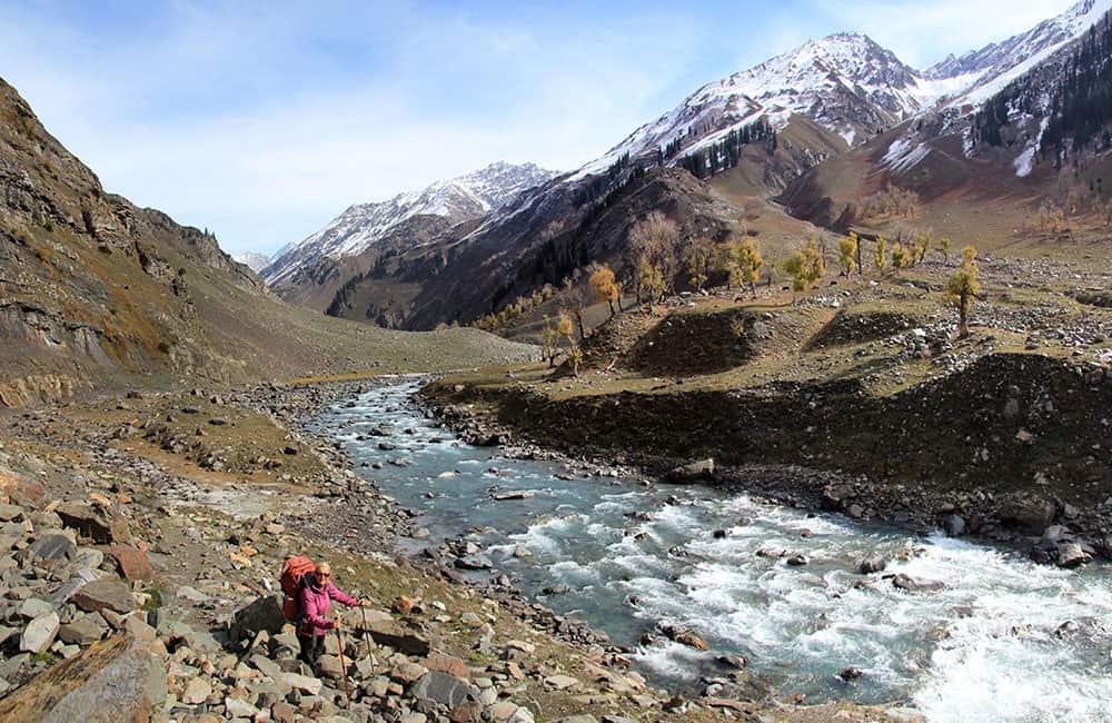 Kashmir and Ladakh trekking Suknoo