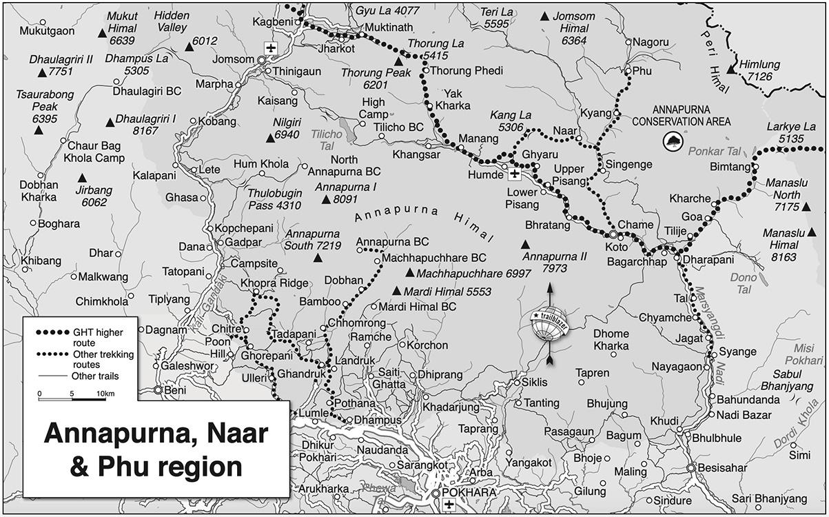 Annapurna Circuit, Naar and Phu