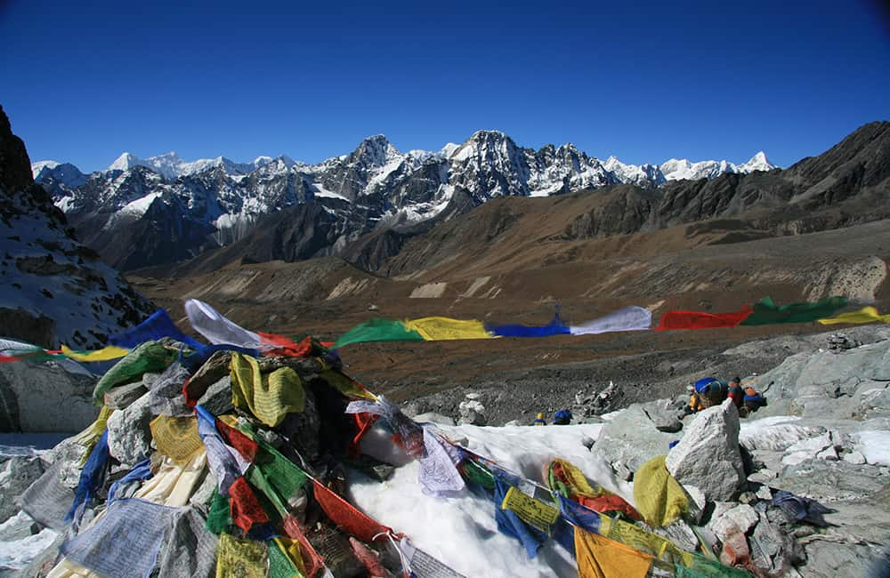 Everest and Rolwaling Treks - Cho La