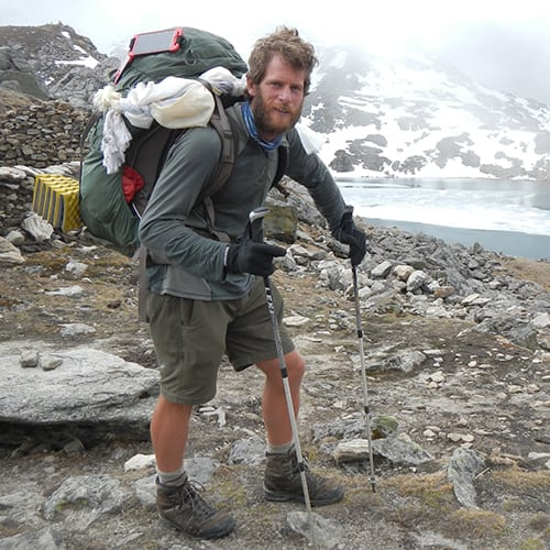Doc McKerr on the first solo GHT Nepal trek