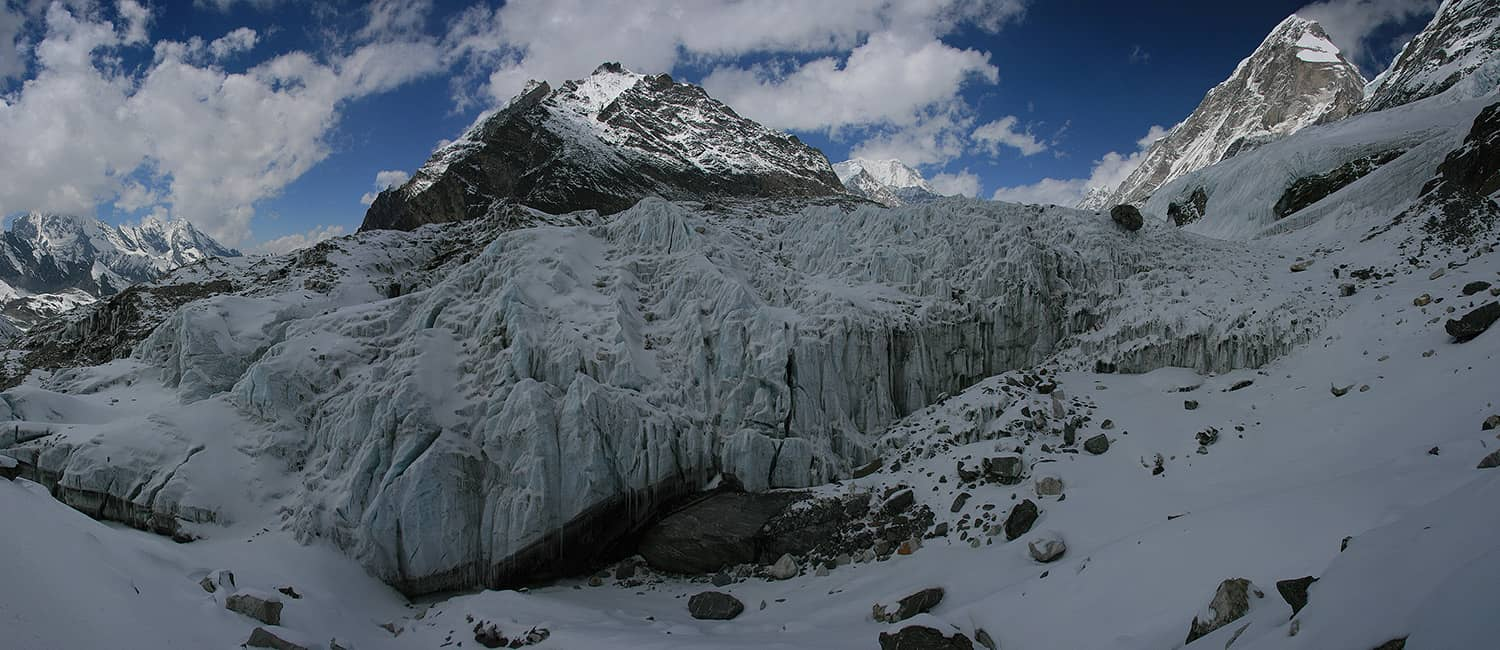 Everest and Rolwaling Treks Drolambu Glacier