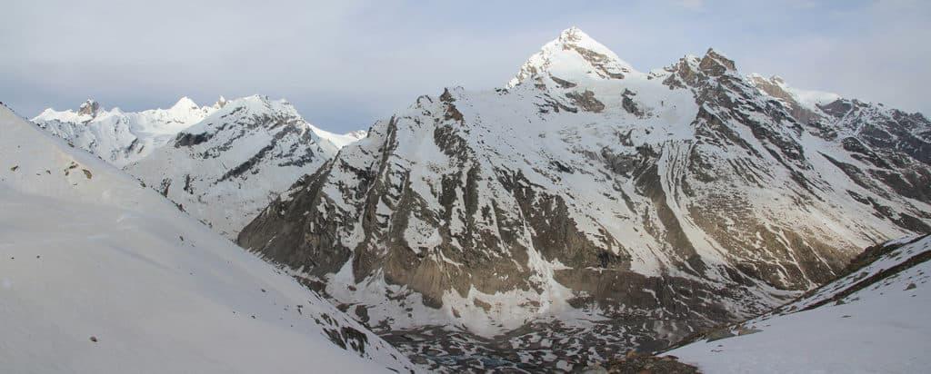 Himachal Pradesh Pin Parvati pass south side