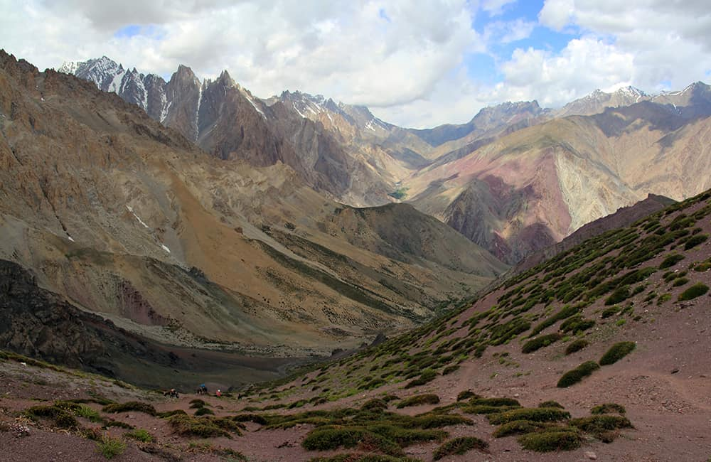 Kashmir and Ladakh Lanak Pass