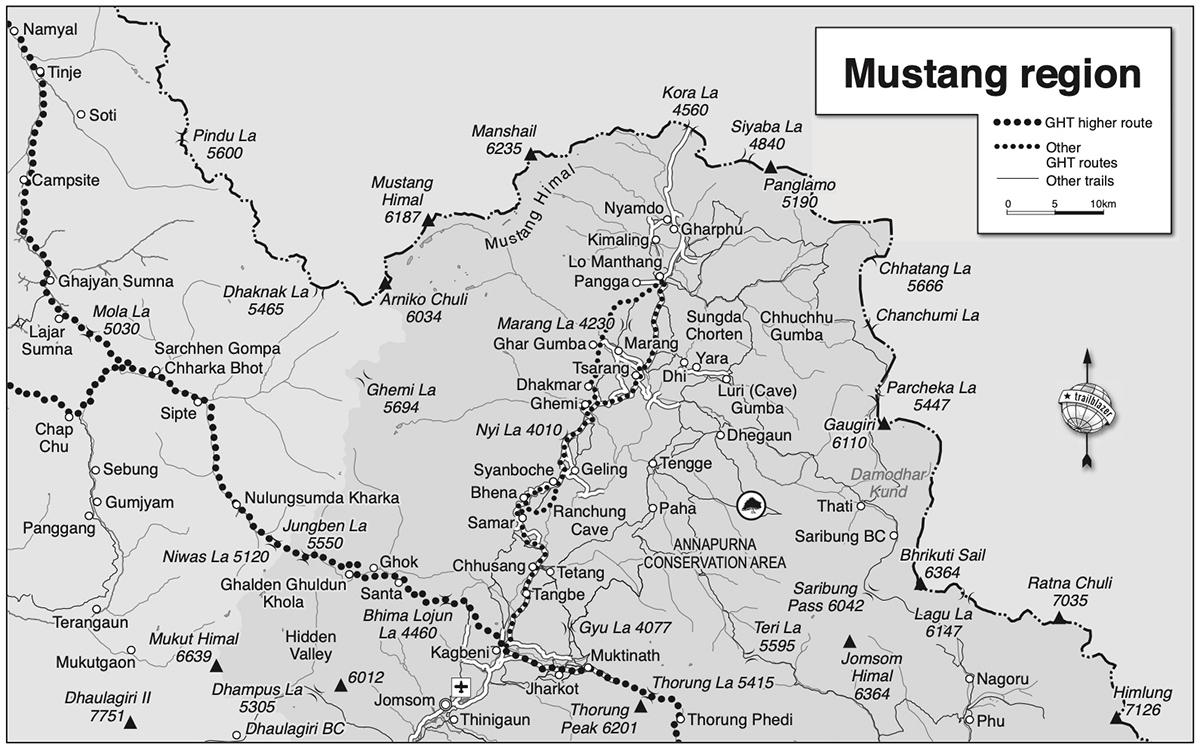 Upper Mustang Circuit