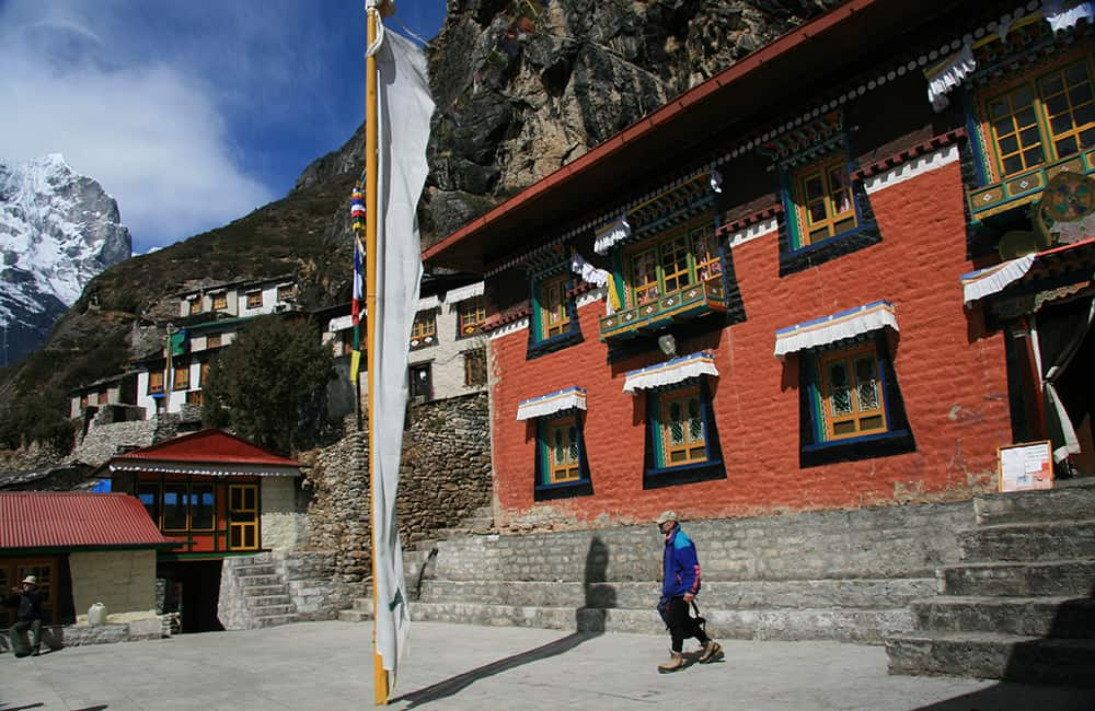 Everest and Rolwaling Treks Thame Gompa
