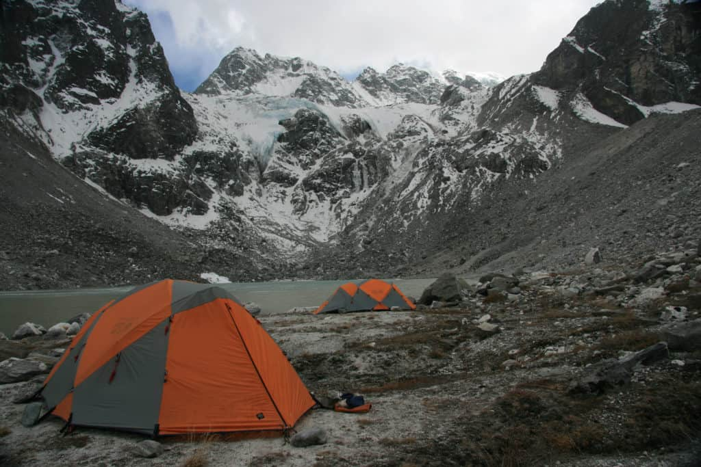 Langtang and Helambu Treks - Tilman Pass North Camp