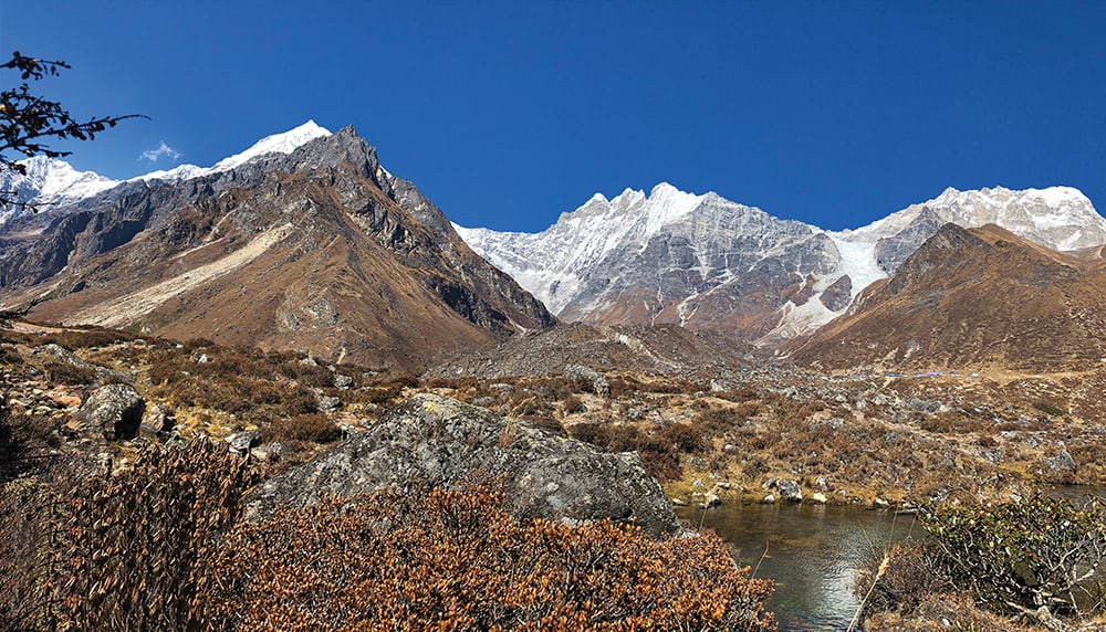 Langtang Valley views