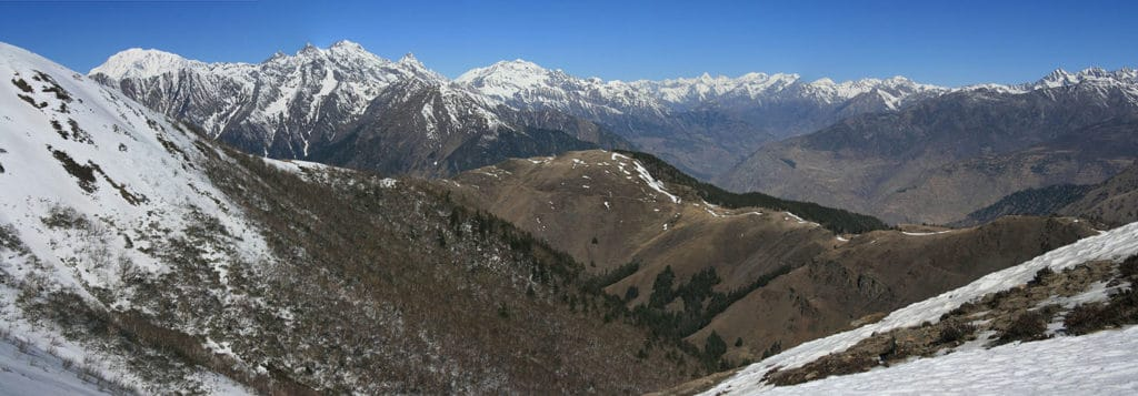Dolpo and Far West Treks - View from Margor Lekh looking north