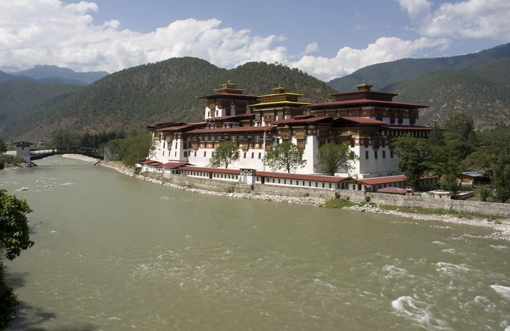 Bhutan Trek Punakha Dzong
