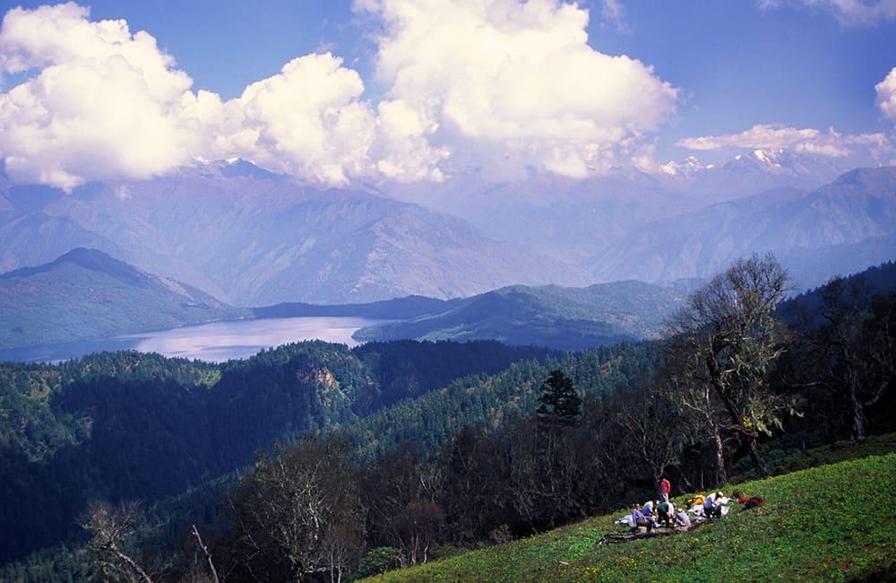 Overlooking Rara Lake National Park