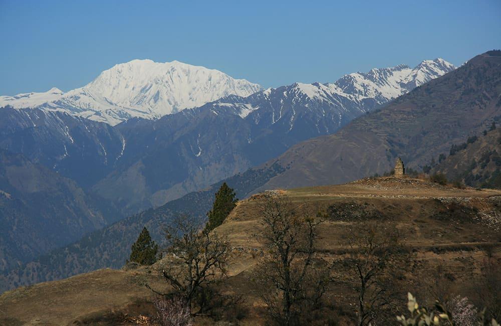 Mt Saipal from Melcham Karnali Corridor Trek