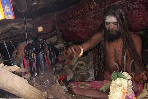 Festivals and Faith Kumaon Badrinath sadhu