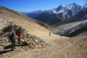 The last pass before Hilsa and the Tibet border in Humla