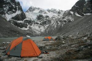 Tilman Pass north campsite