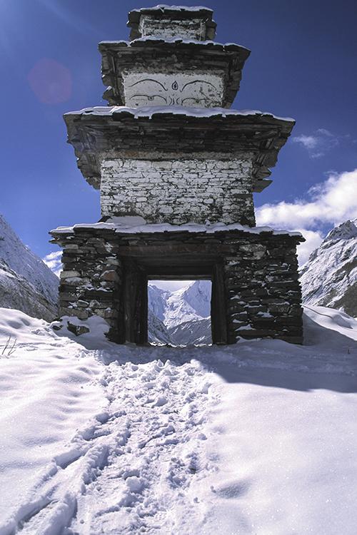GHT Nepal High Route Trek Samdo Gate