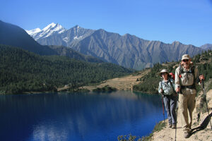 Day 92, Phoksumdo Lake, GHT Nepal