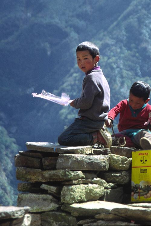 GHT East Nepal kids in Kyangjuma