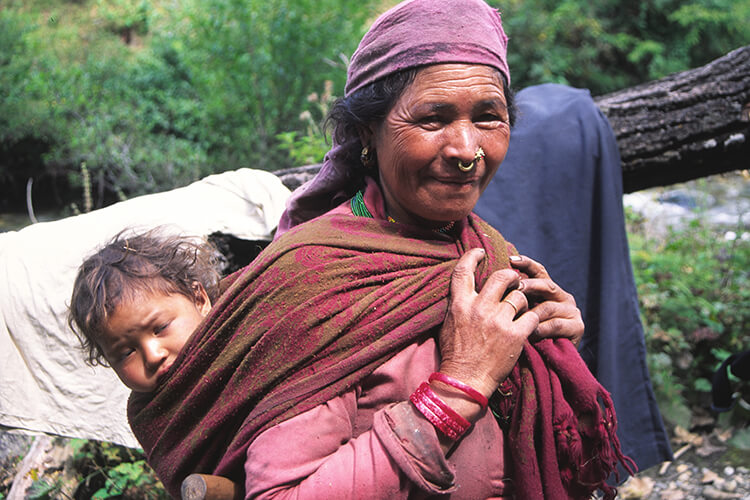 GHT West Nepal Trek local woman
